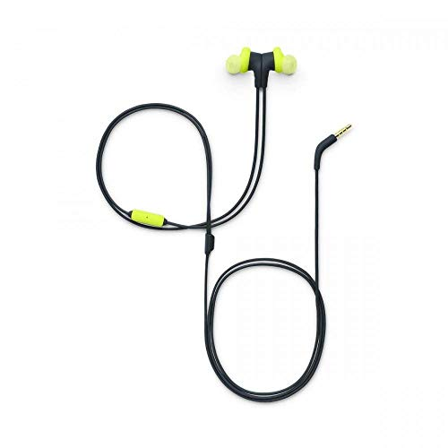 JBL Endurance Run Sweat-Proof Sports in-Ear Headphones with One-Button Remote and Microphone (Yellow) Image 5