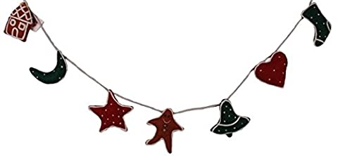 ANNEKABOUKE Weihnachts-Deko-Kette CHRISTMAS TIME GINGERBREAD CHAIN CDD0850 UPE: 19,95 Euro