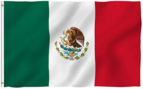 California + US + Mexiko + COLORADO, Textil, Mexiko, 3 X 5 Ft - Colorado Decals