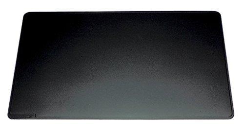 Durable Schreibtischunterlage mit abgerundeten Ecken (650 x 520mm 2er Pack, schwarz)