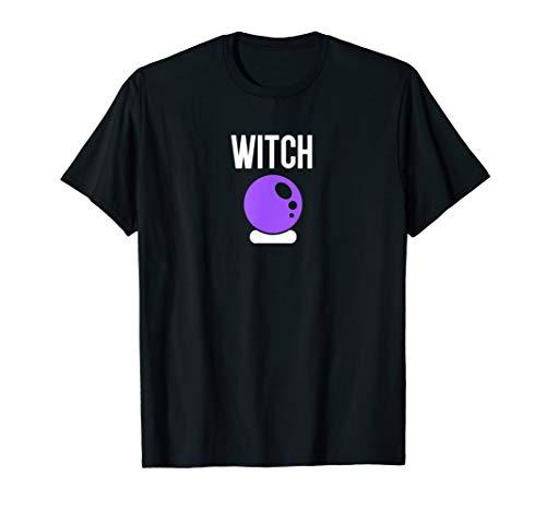 Witch - Psychic Fortune Teller - Crystal Ball Emoji T-Shirt