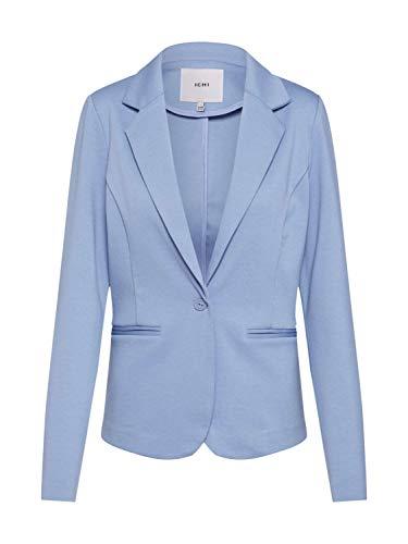 ICHI Damen IHKATE BL Anzugjacke, Blau (Faded Denim 14023.0), 34 (Herstellergröße: XS) -