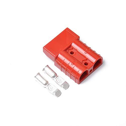 Vaycally Autobatterie Clip-on Zigarettenanzünder Adapterkabel 50 Ampere Batteriestecker Verlängerungskabel mit Sicherungshalter für Autobatterie Tragbarer Luftkompressor Wechselrichter 1St -
