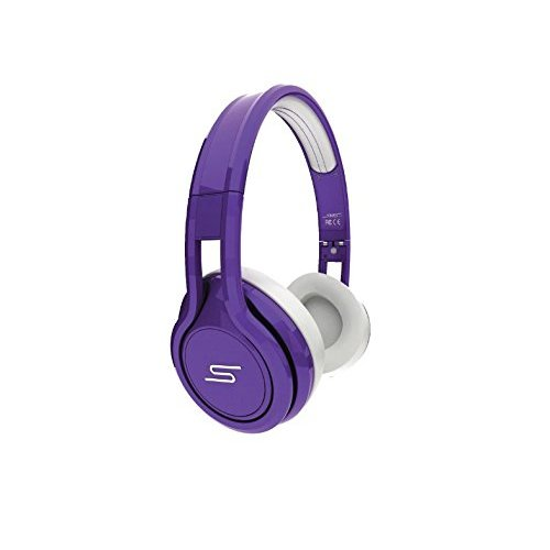 SMS Audio Street 50 Cent Limited Edition Earphones Headphones Purple