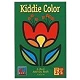Kiddie Color A Buki Activity Book by Poof-Slinky