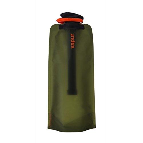vapur-microfilter-bottle-set-olive-green-1l-flexible-water-filter-combo-matte