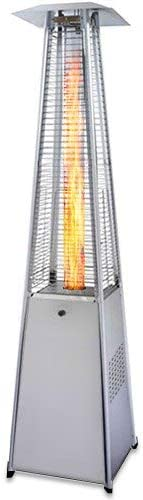 PureHeat Pyramid Style Gas Patio Heater In Stainless Steel
