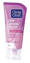 Clean & Clear Clear Fairness Face Wash, 40gm