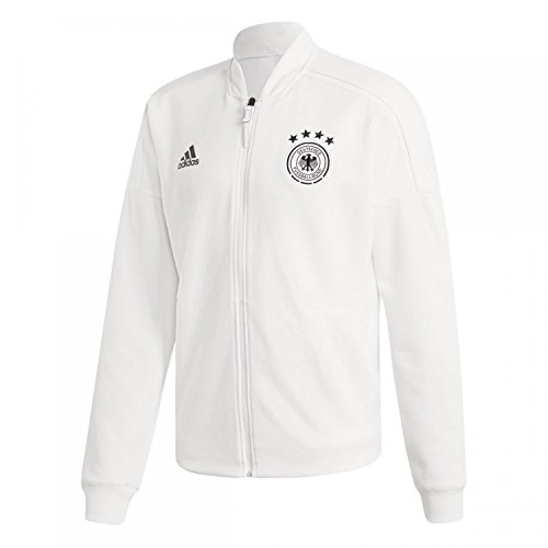 adidas Herren Dfb Zone Jacket Knitted Trainingsjacke, White, L