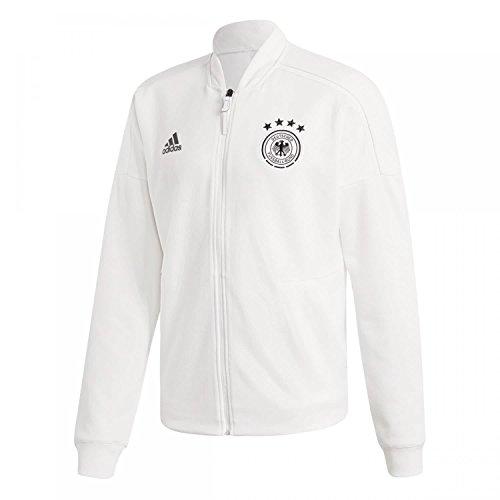 adidas Herren DFB Zone Jacket Knitted Trainingsjacke White 3XL