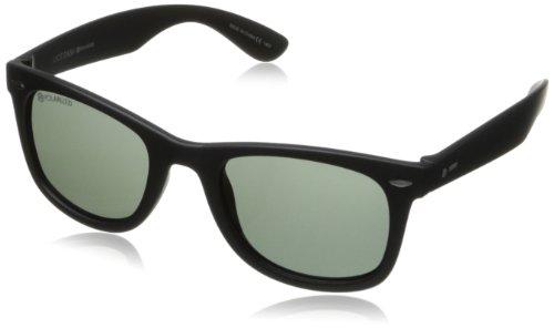 Dot Dash PlimSoul Wayfarer polarisierte Sonnenbrille, Herren, black satin, 48 Mm