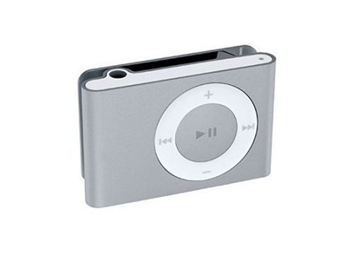 Apple iPod shuffle MP3-Player 1 GB clamshell silber (Apple Ipod 1gb)