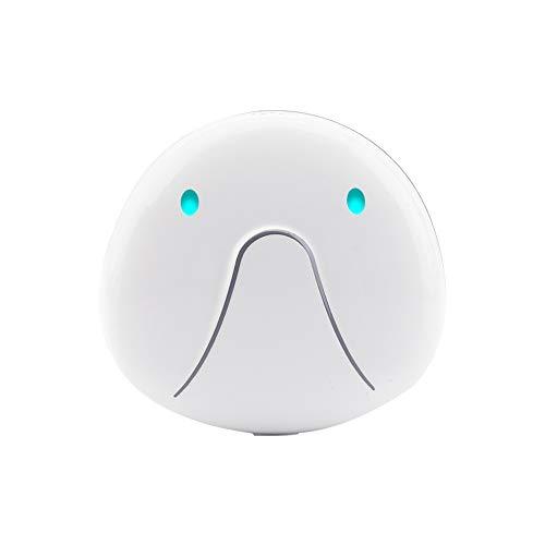 LuckyKit GPS + WiFi + LBS + GPRS Haustier-Verfolger Und Tätigkeits-Monitor, Wasserdicht/Sprachanruf, Automatische Aufnahmeposition Für Reisen U. Im Freien,White Wifi-gprs-gps