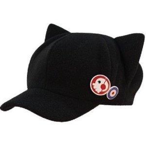 Rebuild of Evangelion Asuka Q cat ear hat Cosplay Costume (japan import)