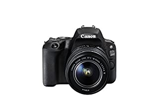 Canon EOS 200D EF-S 18 - 55 mm f/3.5-5.6 DC Camera - Black (B075WMFJ34) | Amazon price tracker / tracking, Amazon price history charts, Amazon price watches, Amazon price drop alerts