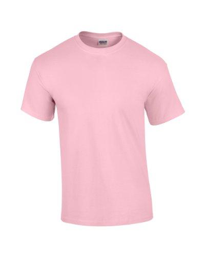 Gildan Shirt Erwachsene Ultra Cotton TM léger rose