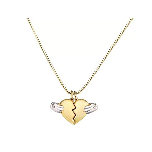 Munuodu 925 sterling silver coppia collana catena ciondolo san valentino regalo