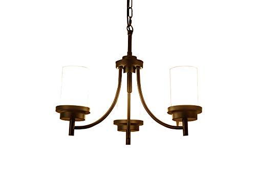 SCHNELL 3-5-6-Licht Anhänger Kronleuchter Moderne Metallbeleuchtung Öl eingerieben Bronze Industrie Deckenleuchte für Esszimmer Küche Wohnzimmer -