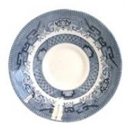 Blue Willow Tea Cup Saucer, used for sale  Delivered anywhere in UK