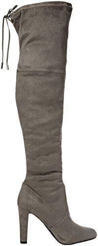 CarvelaSammy - Stivali alti donna Grigio (Grey)