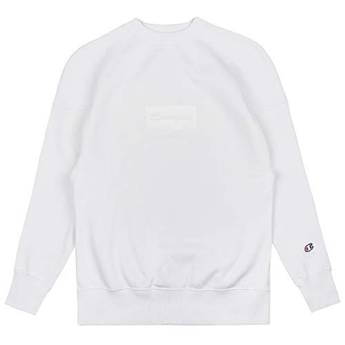 Champion Damen Sweatshirt Crewneck 110852, Größe:S, Farbe:beige (vapy) Crewneck Damen-sweatshirt