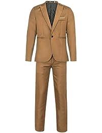 Amazon.es  Beige - Trajes y blazers   Hombre  Ropa 5432995c516