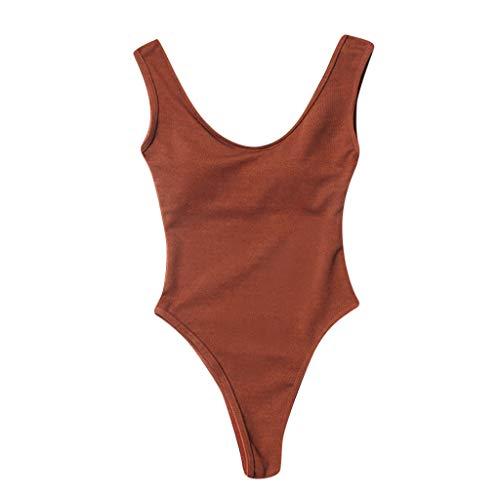 CICIYONER Badeanzüge Damen Gepolsterte Push-up-Badeanzüge Bauchkontrolle