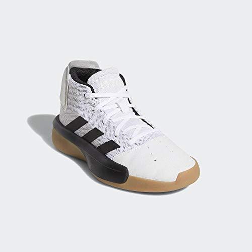 adidas Unisex-Erwachsene Pro Adversary 2019 K Basketballschuhe, Mehrfarbig (Ftwbla/Negbás/Gricua 000), 40 EU