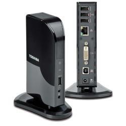 Toshiba Power Plug (TOSHIBA Dynadock V10 - Mini USB Port Replicator (DVI))