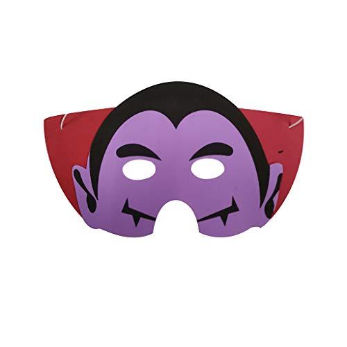 QHJ Halloween Kostüm Party Maske EVA Schaum Cartoon Maske Kostüm Party Mas Favors Dress Up Kostüm für Party Helloween Kostüm Party (C) (Gruselig Pferd Maske Kostüm)