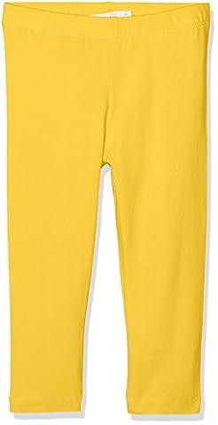 NAME IT Mädchen Hose Nitvivianjas Solid Capri Legging Nmt, Gelb (Banana), Gr. 146