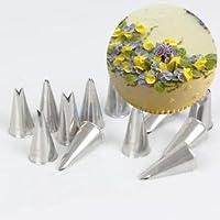 Alcoa Prime 7pcs/Lot Russian Leaf Icing Piping Nozzles Tips Fondant Cake Decoration Tool