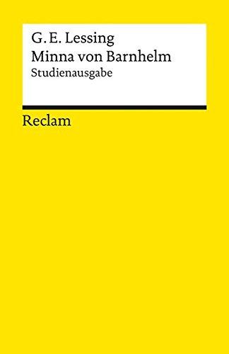 Minna von Barnhelm, oder das Soldatenglück: Studienausgabe (Reclams Universal-Bibliothek)