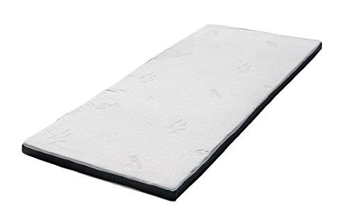 Frankenschaum Matratzenauflage orthopädisch & ergonomisch 4.0 Franz viscoelastisch 140cm • 200cm Topper, Bettauflage, Bezug waschbar