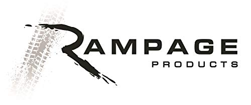 Rampage Jeep 761035 Black Diamond Tonneau Cover by RAMPAGE PRODUCTS (Roll Tonneau Cover)