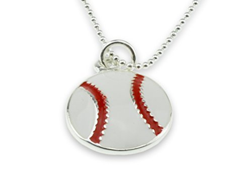 i-love-baseball-softball-pendant-white-red-ball-silver-necklace-little-or-major-league-jewelry-for-b