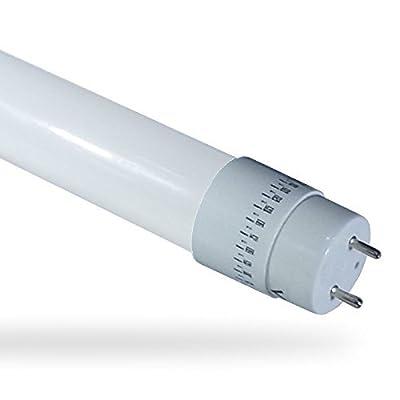 V-TAC 6143 LED Glas Röhre T8 G13 150 cm 6000 Kelvin kaltweisses Licht 22 Watt 1900 Lumen [Energieklasse A+]