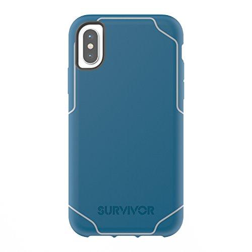 Griffin Survivor Strong Coque pour iPhone X - Bleu...