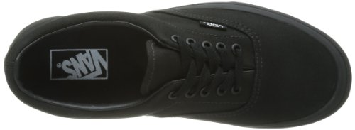 Vans Era Unisex-Erwachsene Sneakers Schwarz (Black/Black BKA)