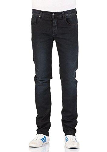 LTB Herren Jeans Sawyer - Slim Fit - Schwarz - Parnell X Wash Parnell X Wash (3509)