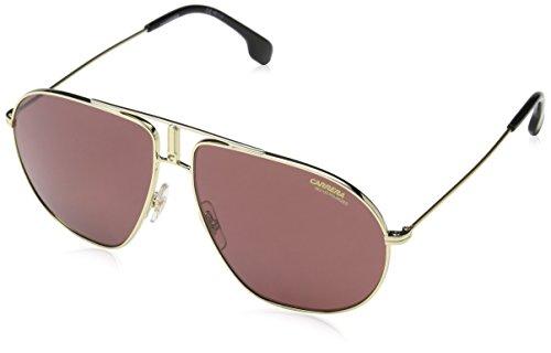 hsene Bound W6 J5G Sonnenbrille, Gold/Burgundy Pz AR, 62 ()