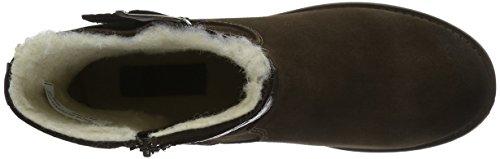 Bianco Damen Warm Suede Biker 33-48935 Boots Braun (20/Dark Brown)