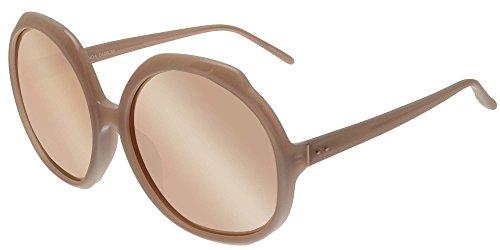 Linda Farrow Sonnenbrillen 417 DUSKY ROSE DUSKY ROSE/ROSE GOLD MIRROR Damenbrillen