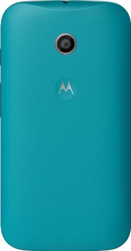 Motorola Clip-On Shell Hülle Schale Case Cover für Moto E Smartphone - Türkis Motorola Q Smartphone