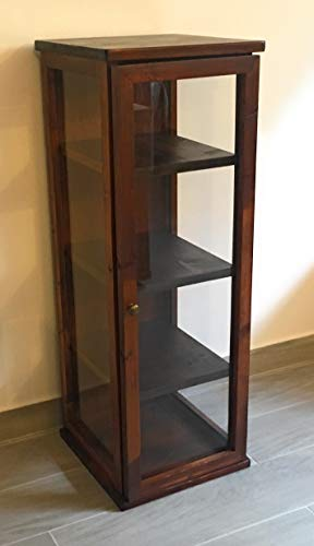 Vetrinetta in legno di abete 30x30x85h