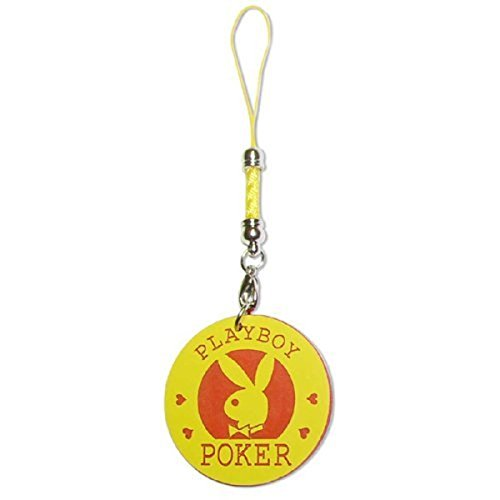 Playboy Handy-Schmuck Poker Chip Yellow and Red