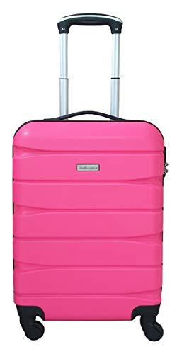 Trolley cabina valigia rigida bagaglio a mano gianmarcoventuri 020_(fucsia)