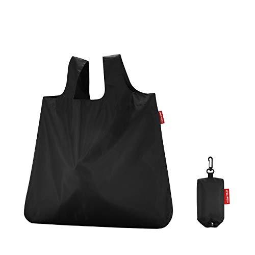 reisenthel Mini Maxi Shopper Sac Pliable, 43,5x60x7cm, 15l, Noir, s