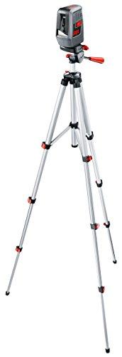 Preisvergleich Produktbild Skil Kreuzlinienlaser LL0516 Set mit Stativ, Arbeitsbereich 10 m, Nivelliergenauigkeit +/- 0,5 mm, F0150516AC
