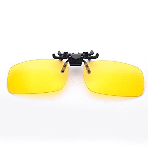 NoyoKere Männer Frauen Retro Flip Up Polarisierte Sonnenbrille Clip Auf Myopie Brille Tag Nachtsichtbrille Polarisierte Sonnenbrille Uv400
